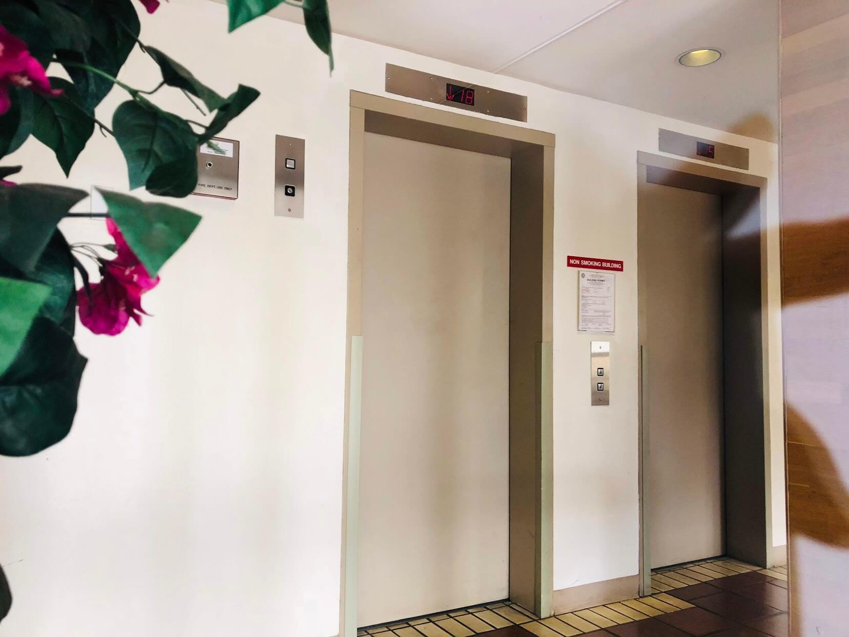 Park side Tower 2222 Citronのエレベーター