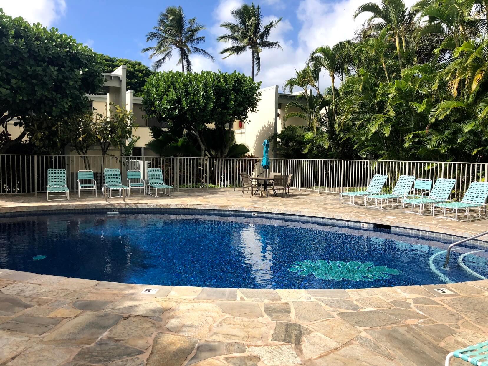 Plaza Hawaii Kai 6770のプール