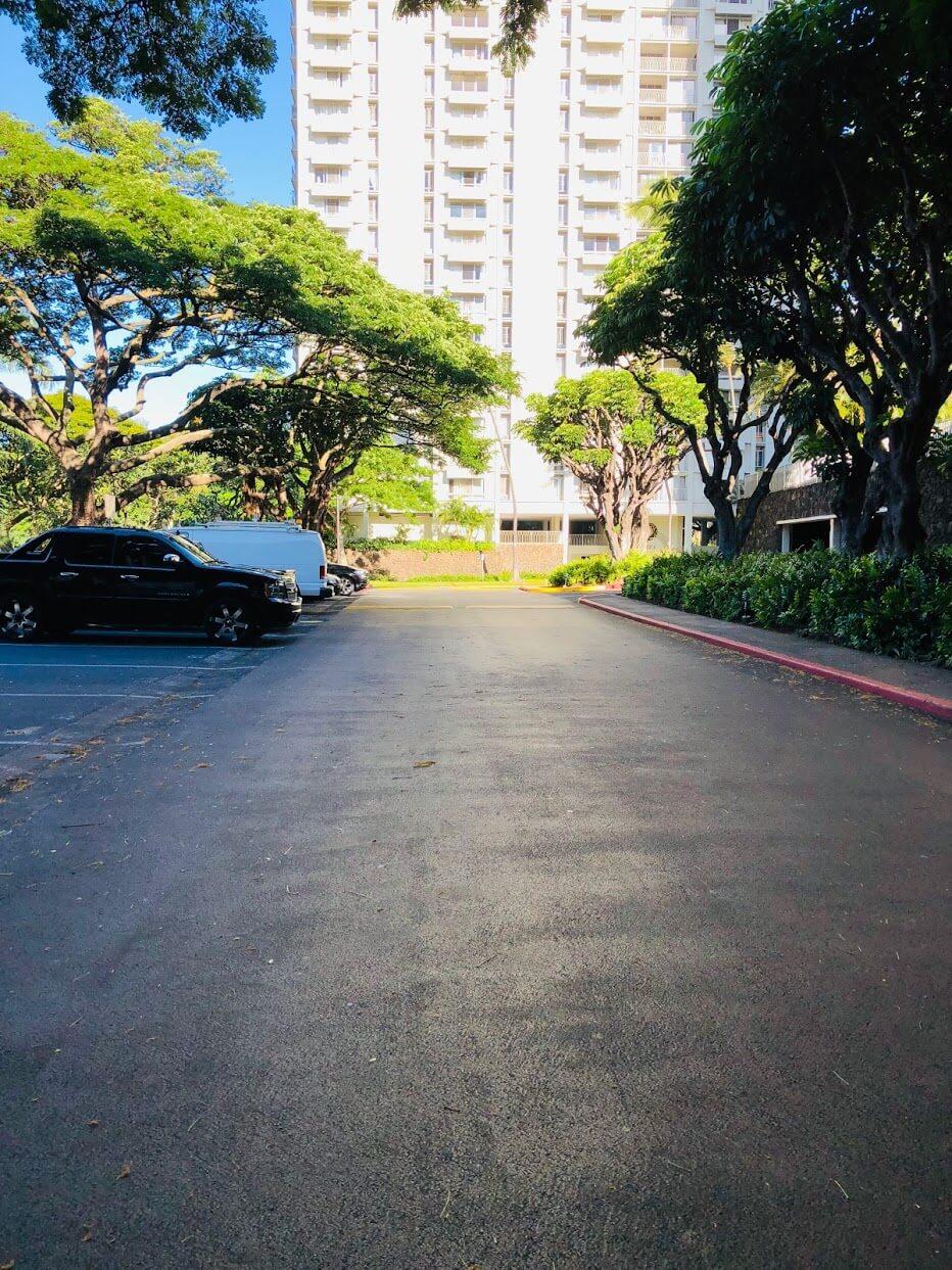 Queen Emma Gardensの道路