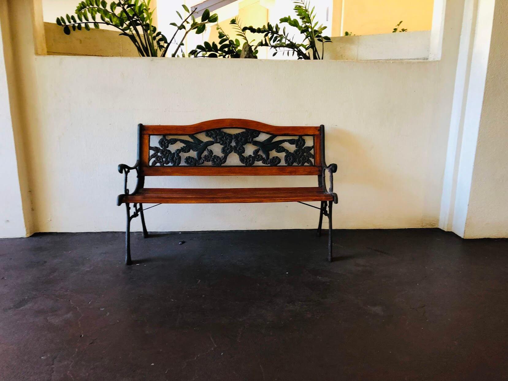 Regency Parkのベンチ