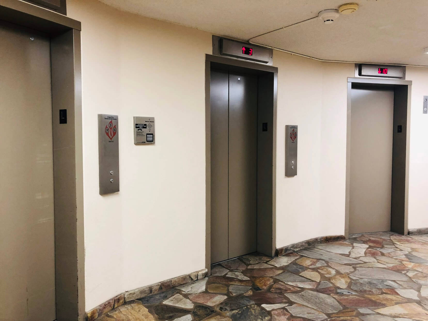 Regency Parkのエレベーター