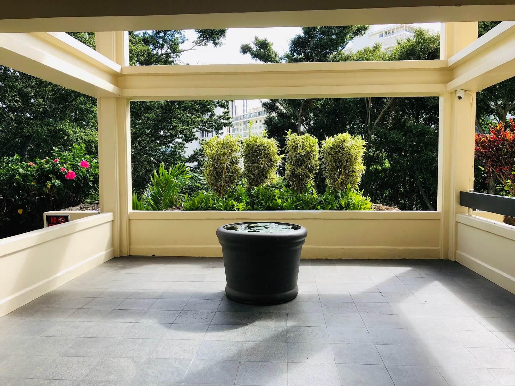 Royal Vistaの庭
