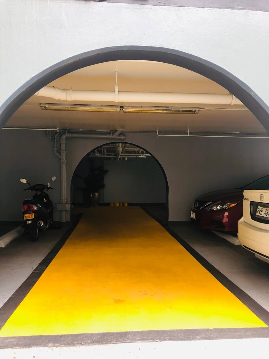 ScandiaTowersの駐車場