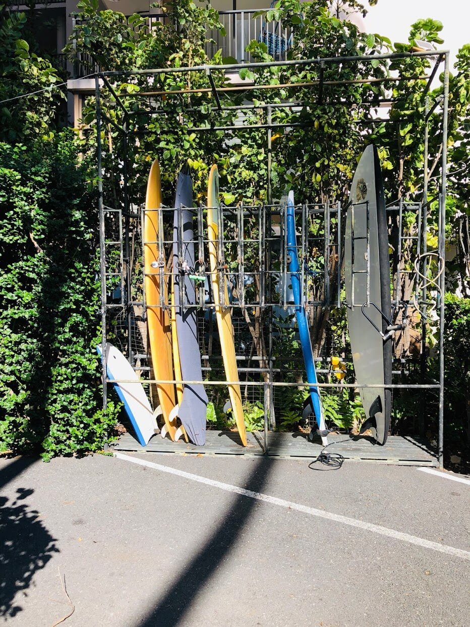 The Tahitienneのサーフボード