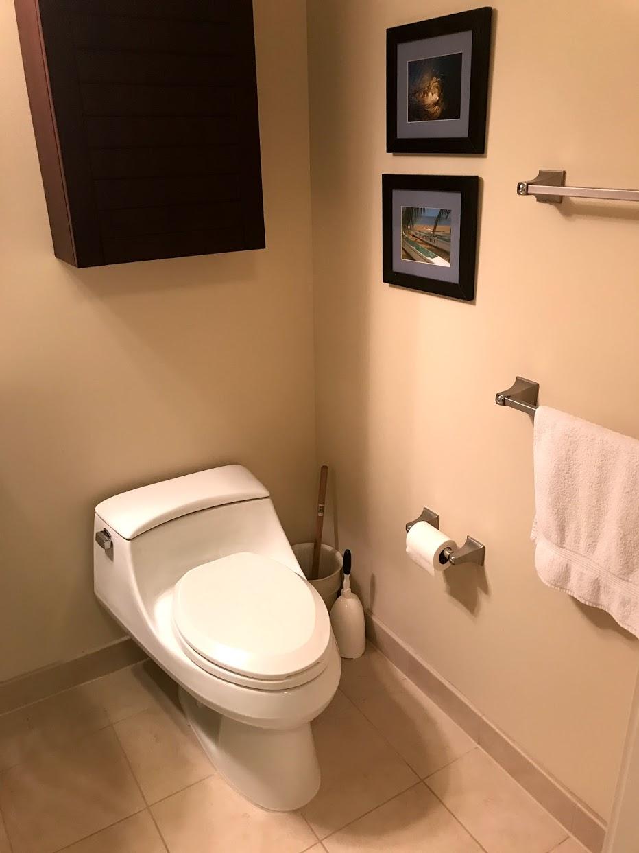 The-Watermarkのトイレ