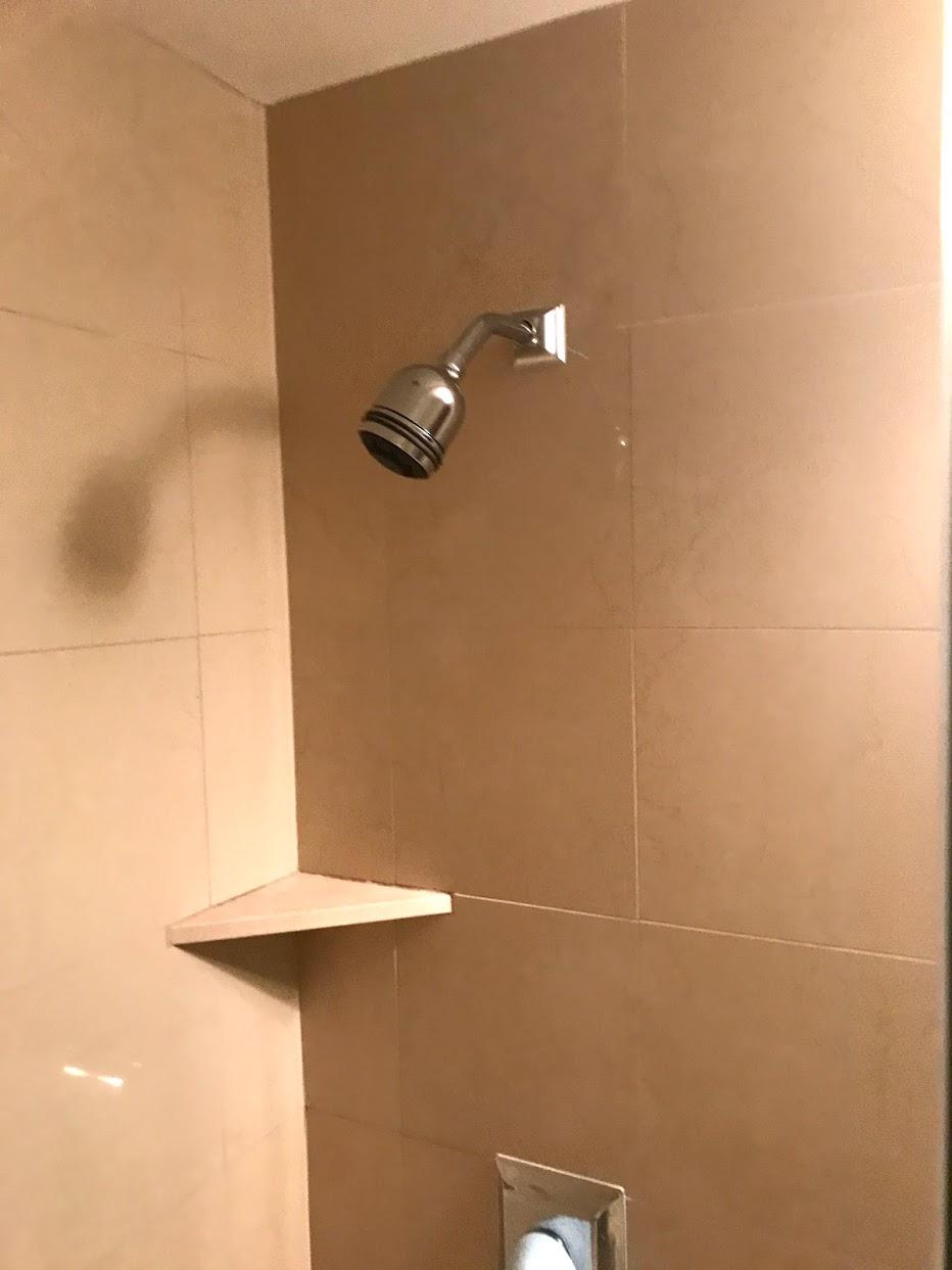 The-Watermarkのシャワー