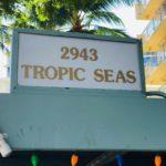 Tropic Seas 2943の看板