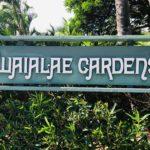 Waialae Gardensの看板