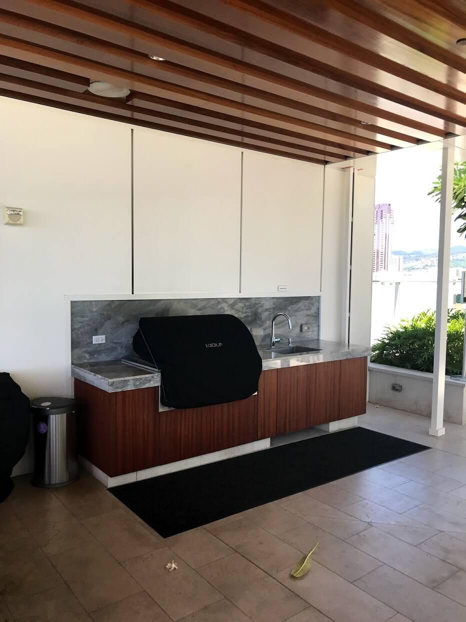 Waieaのキッチン