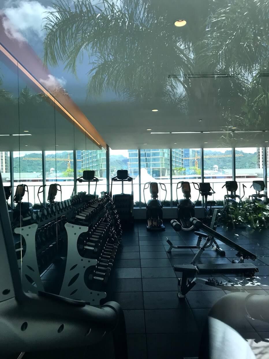 Waieaのトレーニングルーム