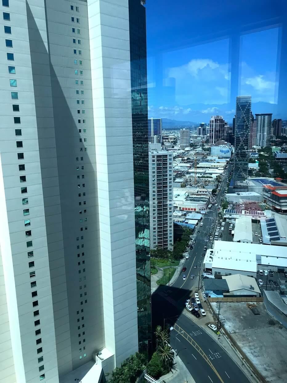 Waihonuaの景観