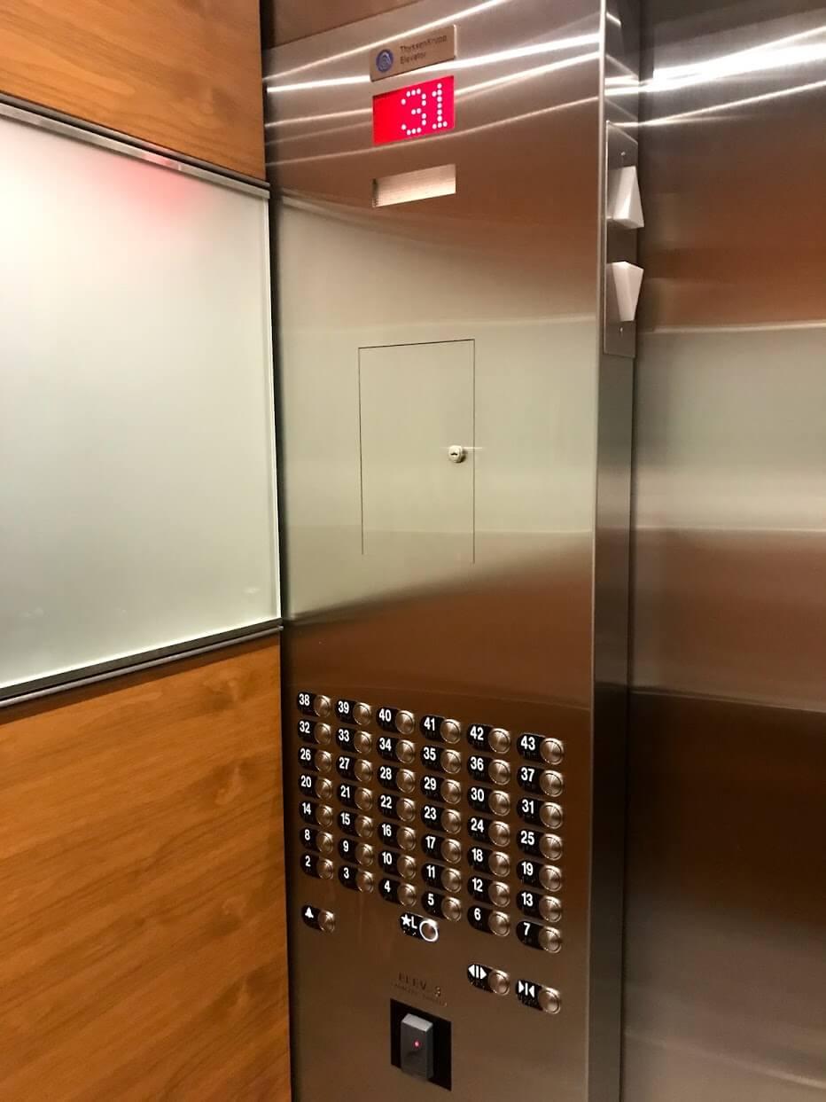 Waihonuaのエレベーター