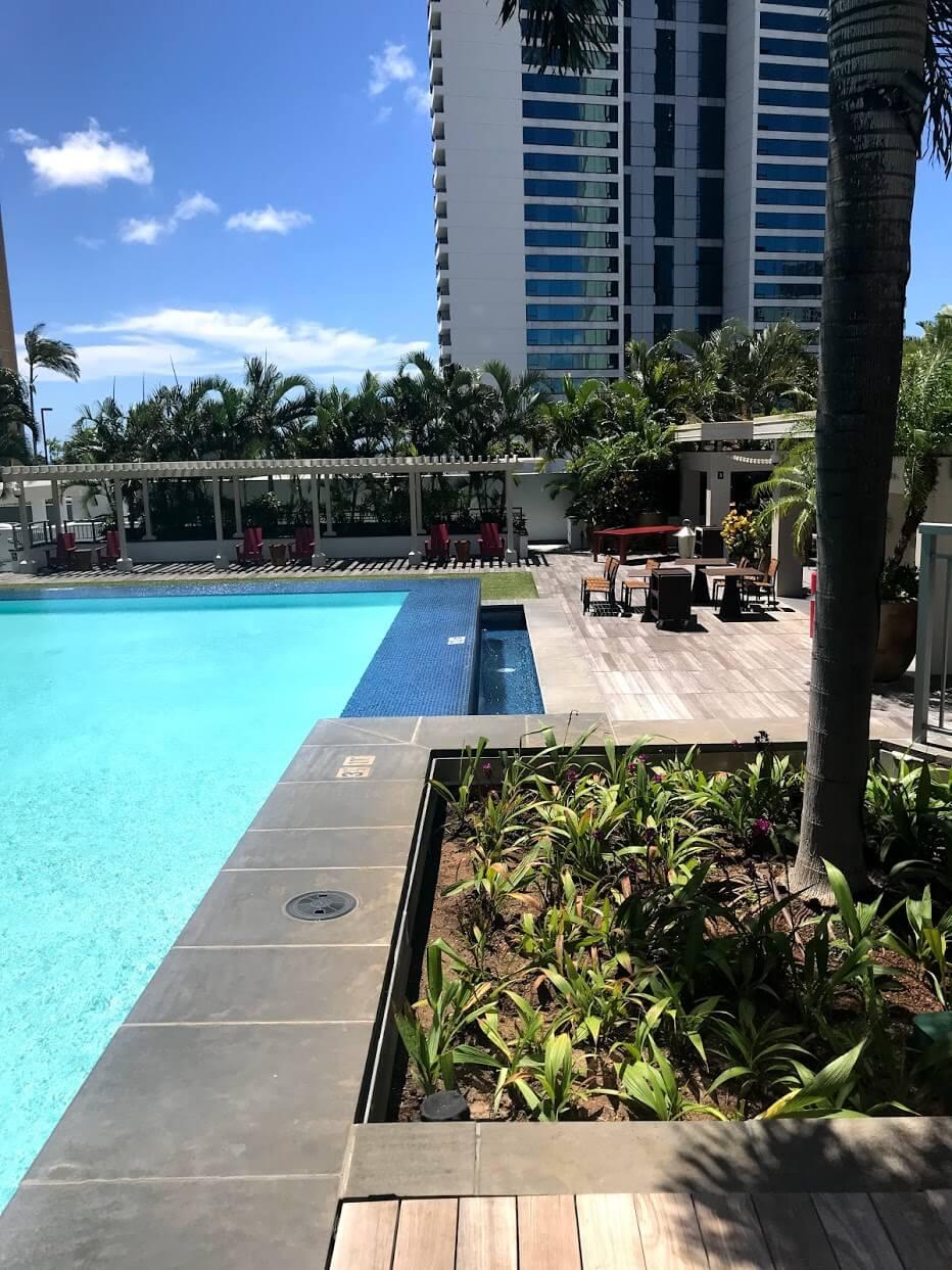 Waihonuaのプール
