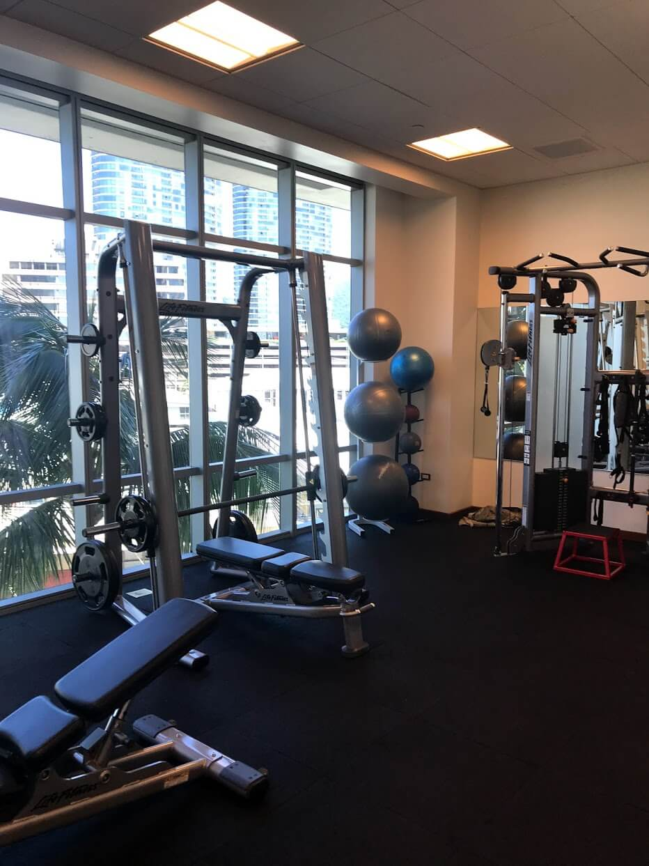 Waihonuaのトレーニングルーム