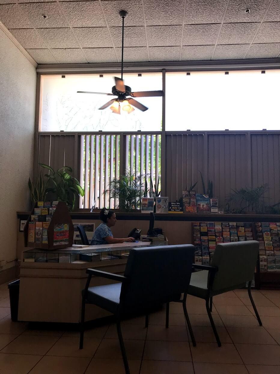 Waikiki-Sunsetのロビー