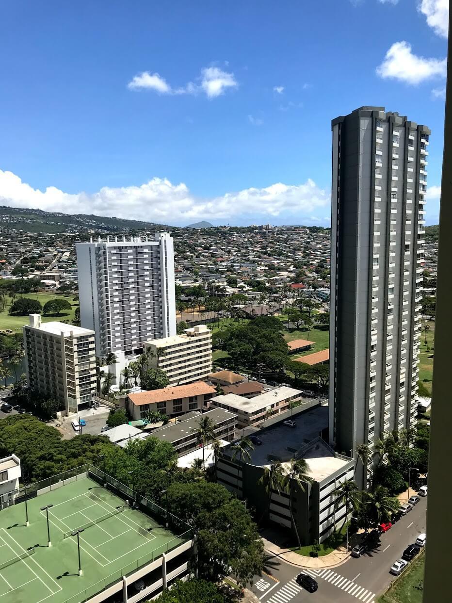 Waikiki-Sunsetの景観