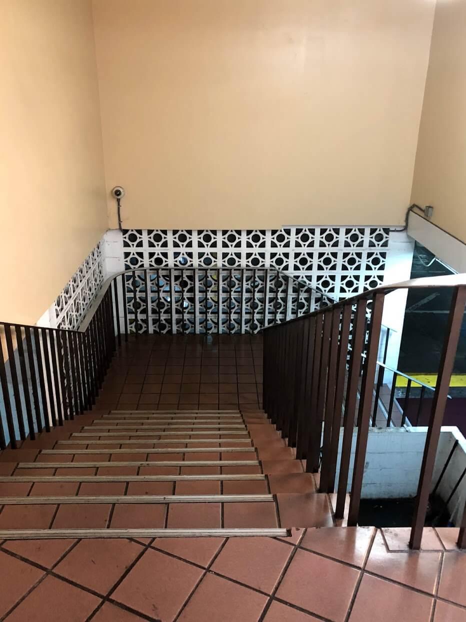WailanaatWaikikiの階段
