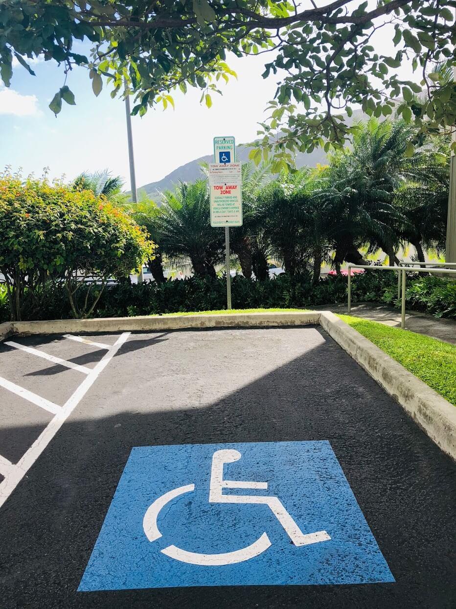 kaluanuiの駐車場
