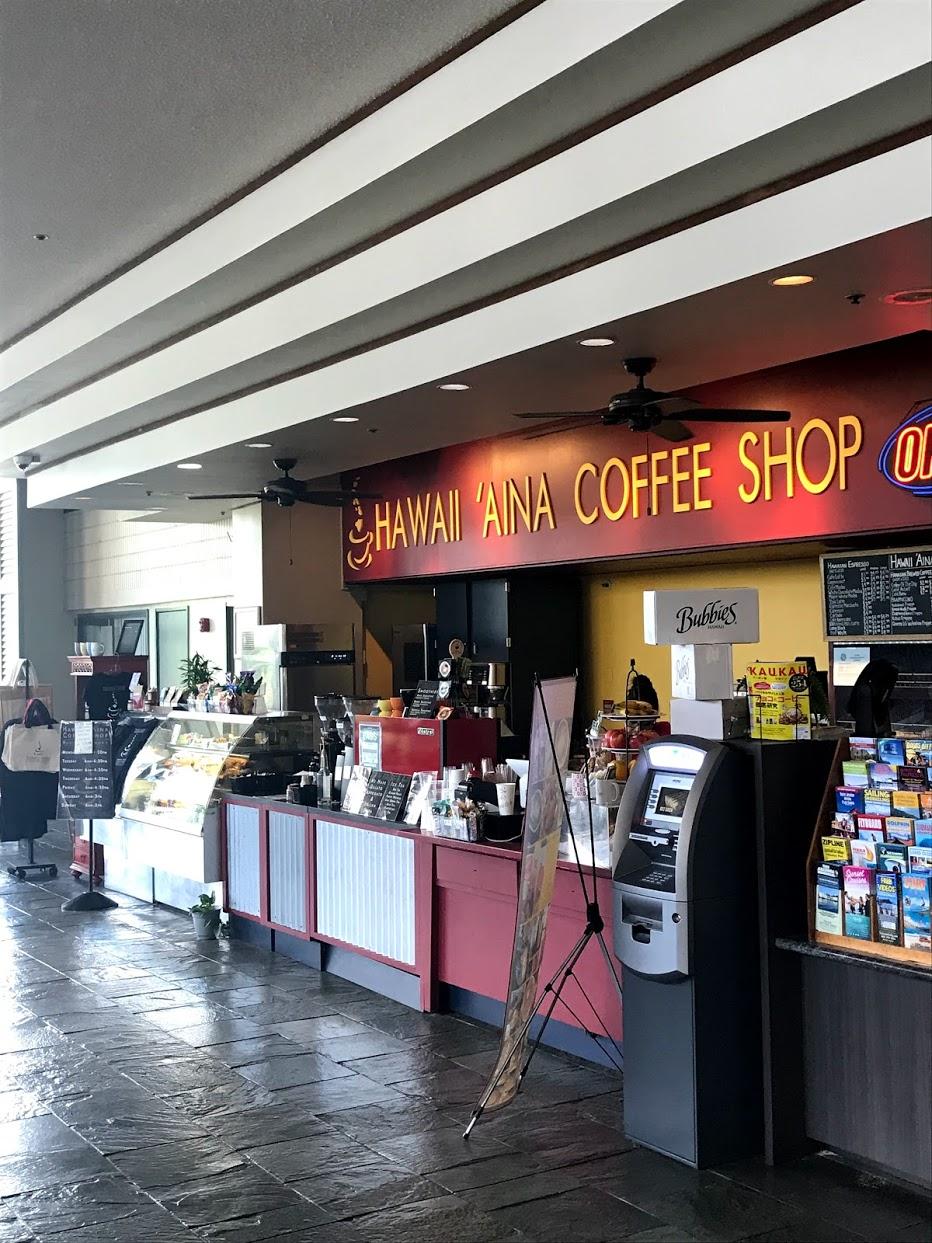 Island-Colonyのコーヒーショップ