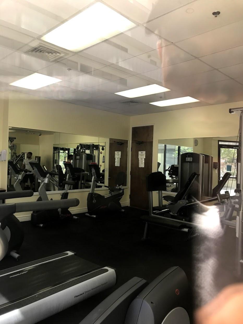 Island-Colonyのトレーニングルーム