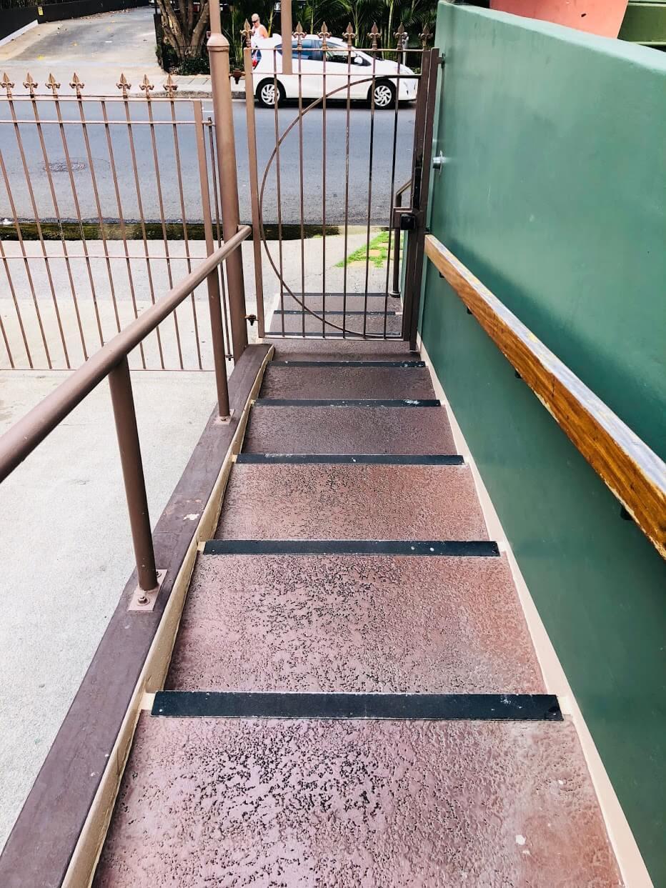 Palmsの階段