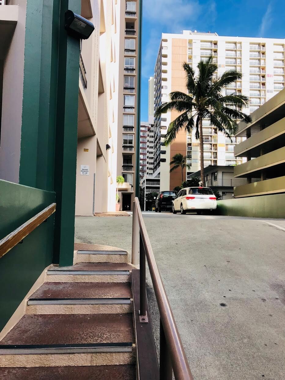 Palmsの駐車場