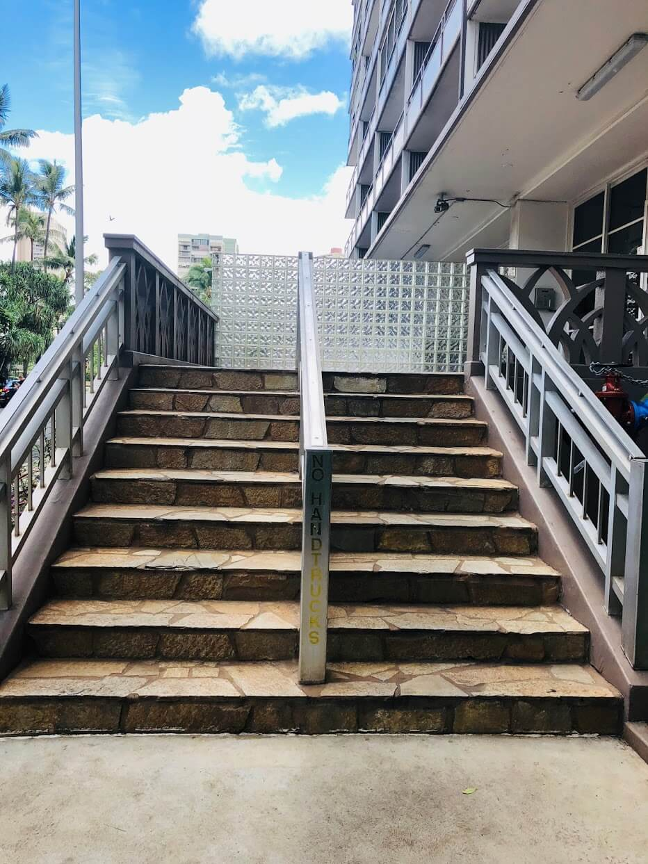 Rosaleiの階段