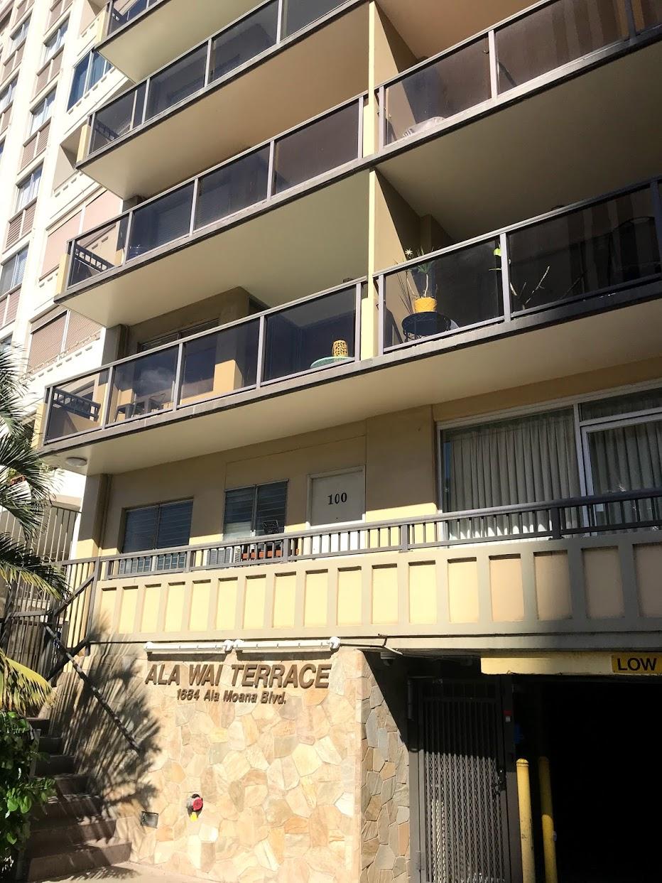 Ala Wai Terraceの外観
